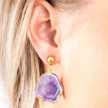 Agate Earrings- 2 Options