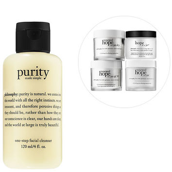 Cleanse & Glow Customizable Set - philosophy | Sephora