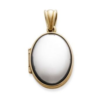 Gold and Silver Oval Locket | James Avery