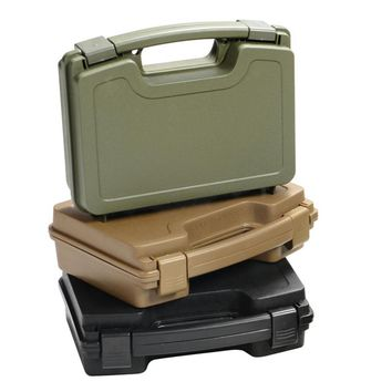 ABS Pistol Case Tactical Hard Pistol Storeage Case Gun Case Padded Hunting Accessories Carry Boxs for hunting airsoft