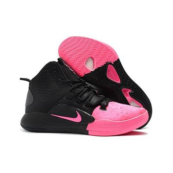 Nike Hyperdunk X Ep Black/pink Basketball Shoes | Best Deal Online