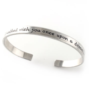Once Upon A Dream - Cuff Bracelet