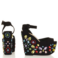 WOWZER Jewelled Wedges - New In This Week - New In - Topshop USA