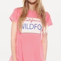 WILDFOX PLATES DESERT CREWNECK at Wildfox Couture in  STRAWBERRY ICE, BEL AIR