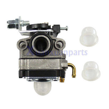 Carburetor +Primer Bulb For Troy-Bilt TB26TB TB475SS TB490BC TB425CS Gas Trimmer