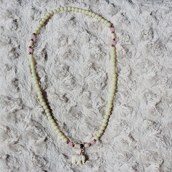 Ivory Elephant Necklace