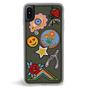 Badge Embroidered iPhone X Case