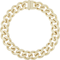 Givenchy - Gourmette gold-tone chain necklace