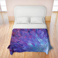 Artistic Duvets by DiaNoche Designs, Scales of a Different Color