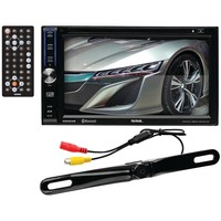 "Soundstorm 6.2"" Double-din In-dash Touchscreen Dvd Receiver With Bluetooth (with Backup Camera)"