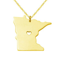 Minnesota Pendant Necklace