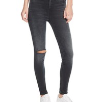 rag & bone/JEANHigh Rise Skinny Jeans in Steele