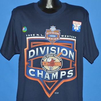 90s San Diego Padres 1996 NL West Champs t-shirt Large