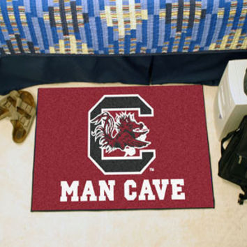 "NCAA - South Carolina Man Cave Starter Rug 19""x30"""