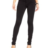 Celebrity Pink Jeans Juniors' Black-Wash Skinny Jeans | macys.com