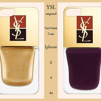 Iphone 5/4/4s Case-YSL Iphone 5 Case-Ysl Iphone Cover-YSL-Fashion Case-Fashion Cover-Iphone 5 case,Iphone 4/4s case,Iphone 5 cover,Iphone 4