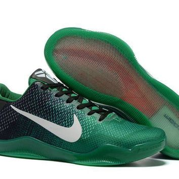 jacklish nike kobe 11 black green online outlet  number 1