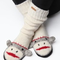 Delux Cute Sock Monkey Slipper Socks:Amazon:Shoes