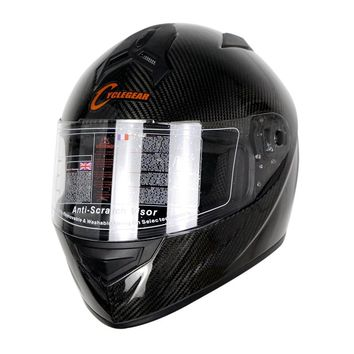 High Quality Cycle gear Carbon Fiber Full Face Motorcycle Helmet Racing Casco ECE Approval CG931