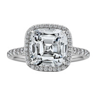 Tiffany & Co. Diamond and Platinum Engagement Ring.
