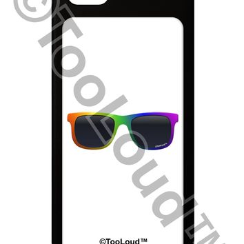 Pride Rainbow Glasses iPhone 5 / 5S Grip Case  by TooLoud