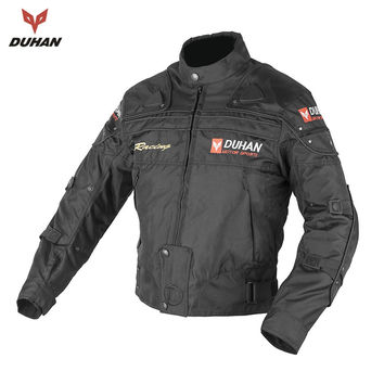 DUHAN Hot Sales Men Motorcycle Protective Clothing Motorcycle Racing Jackets Body Armor Protective Moto Jacket