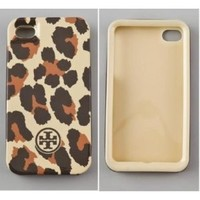 Amazon.com: Brand New Tory Burch HardShell Iphone 4/ 4S Cover Bengal Leopard Case: Cell Phones & Accessories