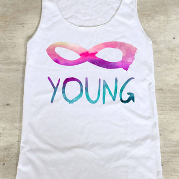 Infinity Young Shirt Top Tank Top Tee Tunic Singlet - Size S M L