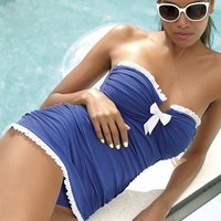 Profile by Gottex 'Black Tie' One Piece Swimsuit & Accessories | Nordstrom