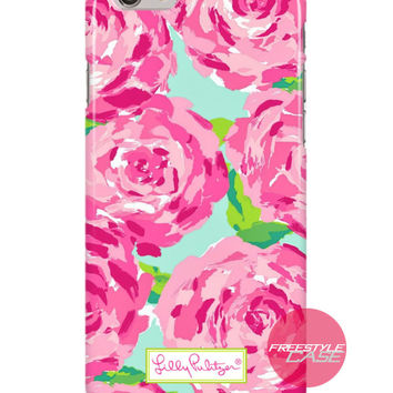 Lilly Pulitzer First Impression Rose Inspired iPhone Samsung Case Series