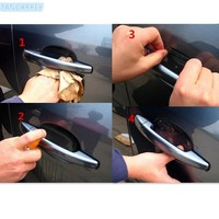 2017 hot car handle protection stickers accessories for mazda volkswagen golf 4 bmw e90 touareg mercedes w210 mercedes w203