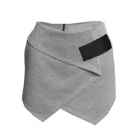 Wrapped in Love Skorts - Grey - Bottoms - Clothing