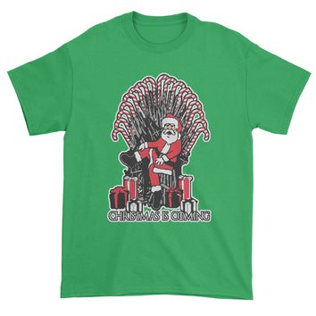 Christmas Is Coming GoT Ugly Christmas Mens T-shirt