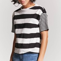 Contrast Stripe Top