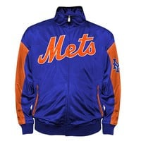New York Mets Tricot Track Jacket - Big & Tall, Size: