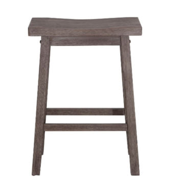 "Sonoma Saddle 29"" Bar Stool Stylish Home Furniture with Footrest Brown"