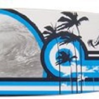 Krown Disco Wave City Surf Longboard Skateboard