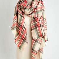 Fall Night Long Scarf in Coral by ModCloth