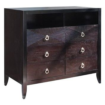 Brownstone Furniture Camden Media or Highboy Console Dresser