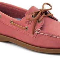 Sperry Top-Sider Authentic Original 2-Eye Boat Shoe WashedRedLeather, Size 5M  Women's Shoes
