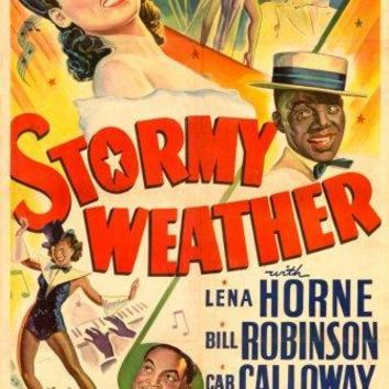 Stormy Weather movie poster Sign 8in x 12in