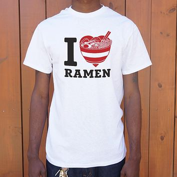 I Love Ramen Men's T-Shirt