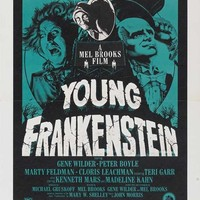 Young Frankenstein 27x40 Movie Poster (1974)