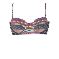billabong tribal underwire bandeau & billabong tropic boy bottom