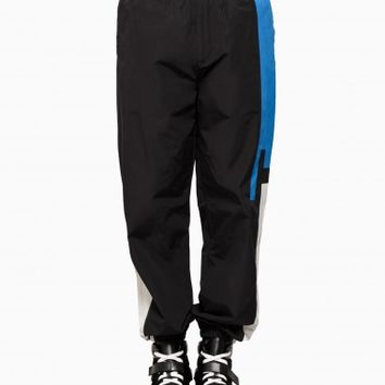 Logo track pants from F/W2015-16 T by Alexander Wang collection in black