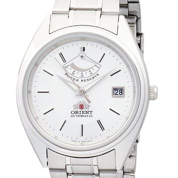 Orient CFD00001W Men's Stainless Steel Automatic Watch with Power Reserve Indicator