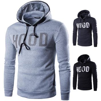 Casual Long Sleeve Hoodies Men Summer Alphabet Print Men's Fashion Hats [10669393987]
