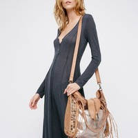 Free People Orion Leather Tote