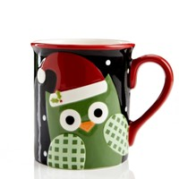 christmas owl mug - Google Search