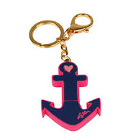 Lilly Pulitzer Flash Drive Keychain - Anchor - Ryan's Daughters